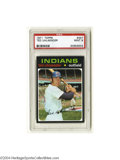 Baseball Cards:Singles (1970-Now), 1971 TOPPS TED UHLAENDER #347 Mint PSA 9. From one of the ...