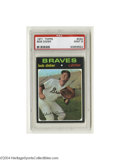 Baseball Cards:Singles (1970-Now), 1971 TOPPS BOB DIDIER #432 Mint PSA 9. From one of the ...