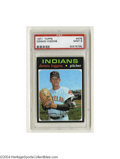 Baseball Cards:Singles (1970-Now), 1971 TOPPS DENNIS HIGGINS #479 Mint PSA 9. From one of the ...