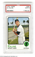 "Baseball Cards:Singles (1970-Now), 1973 TOPPS AL KALINE #280 Mint PSA 9. ""Mr. Tiger"" HOF ..."