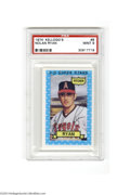 Baseball Cards:Singles (1970-Now), 1974 KELLOGG'S NOLAN RYAN #8 Mint PSA 9. For 14 years in ...