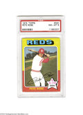 Baseball Cards:Singles (1970-Now), 1975 TOPPS PETE ROSE #320 NM/MT PSA 8. The 1975 Topps ...