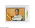 Baseball Cards:Singles (1950-1959), 1952 TOPPS GIL HODGES #36. Card depicting the Brooklyn ...