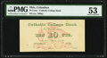 Columbus, OH- Catholic College Bank 10¢ ND (ca. 1880s) Schingoethe OH-400-.10 Wolka 0849-01 PMG About Uncirculated...