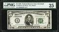 Fr. 1950-D* $5 1928 Federal Reserve Note. PMG Very Fine 25