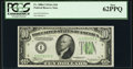 Fr. 2006-I $10 1934A Federal Reserve Note. PCGS New 62PPQ