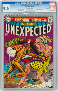 Tales of the Unexpected #97 Savannah Pedigree (DC, 1966) CGC NM+ 9.6 Off-white pages