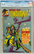Bronze Age (1970-1979):Western, Tomahawk #138 (DC, 1972) CGC NM 9.4 Off-white pages....