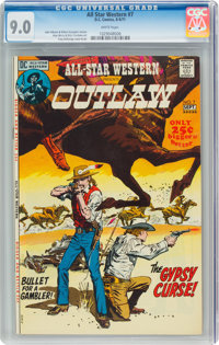 All-Star Western #7 (DC, 1971) CGC VF/NM 9.0 White pages