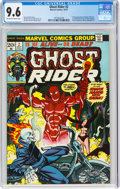 Bronze Age (1970-1979):Superhero, Ghost Rider #2 (Marvel, 1973) CGC NM+ 9.6 Off-white to white pages....