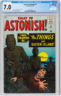 Silver Age (1956-1969):Horror, Tales to Astonish #5 (Marvel, 1959) CGC FN/VF 7.0 Cream to off-white pages....