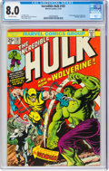 Bronze Age (1970-1979):Superhero, The Incredible Hulk #181 (Marvel, 1974) CGC VF 8.0 Off-white pages....