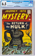 Silver Age (1956-1969):Horror, Journey Into Mystery #66 (Marvel, 1961) CGC FN+ 6.5 Off-white to white pages....
