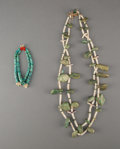 American Indian Art:Jewelry and Silverwork, Two Pueblo Jewelry Items ... (Total: 2 )