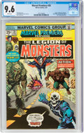 Bronze Age (1970-1979):Superhero, Marvel Premiere #28 The Legion of Monsters (Marvel, 1976) CGC NM+ 9.6 White pages....