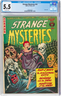 Strange Mysteries #10 (Superior Comics, 1953) CGC FN- 5.5 Off-white pages