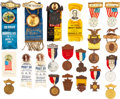 Military & Patriotic:Civil War, G.A.R. Encampment Badges from Atlantic City and Elsewhere.. ...