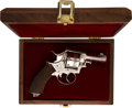 Handguns:Double Action Revolver, Cased and Engraved Blissett & Son Double Action Revolver.. ...