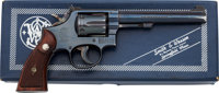 Boxed Smith and Wesson Model 17 (K-22 Masterpiece) Double Action Revolver