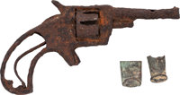 Relics Revolver Found at the Clanton Family Ranch, Participant at the OK Corral