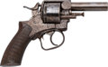 Handguns:Double Action Revolver, N. Curry and Bro. Marked Webley Double Action Revolver.. ...