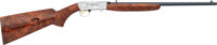 Engraved Belgian Browning Grade IV Semi-Automatic Rifle