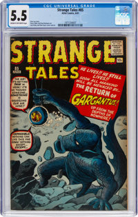 Strange Tales #85 (Marvel, 1961) CGC FN- 5.5 Cream to off-white pages