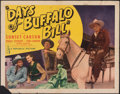 """Movie Posters:Western, Days of Buffalo Bill & Other Lot (Republic, 1946). Folded, Fine. Half Sheets (2) (22"""" X 28"""") Style A. Western.. ... (Total: 2 Items)"""