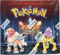 Pokémon First Edition Neo Revelation Set Sealed Booster Box (Wizards of the Coast, 2001)