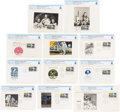"Explorers:Space Exploration, Philatelia: ""First Man On The Moon"" Stamp Collection of Eleven Different First Day Covers Directly From The Armstrong Family ..."