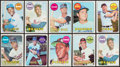 Baseball Cards:Sets, 1969 Topps Baseball Collection (43) With Stars & HoFers....