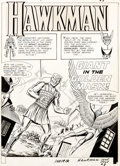 Original Comic Art:Complete Story, Murphy Anderson Hawkman #8 Complete Issue Story Pages Original Art Group of 25 (DC, 1965).... (Total: 25 Original Art)