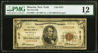 Mineola, NY - $5 1929 Ty. 1 The First National Bank Ch. # 9187 PMG Fine 12