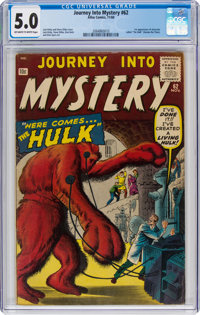 Journey Into Mystery #62 (Marvel, 1960) CGC VG/FN 5.0 Off-white to white pages