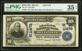National Bank Notes:Illinois, Belleville, IL - $10 1902 Plain Back Fr. 632 The St. Clair National Bank Ch. # (M)11478 PMG Choice Very Fine 35 EPQ....