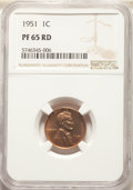 Five-Piece 1951 Proof Set PR65 to PR67 NGC. The holders Display consecutive certification numbers. the set includes: C...