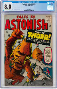 Tales to Astonish #16 (Marvel, 1961) CGC VF 8.0 Off-white to white pages