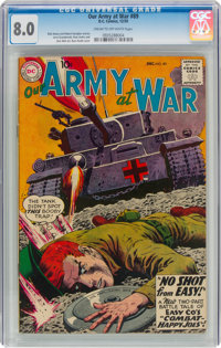 Our Army at War #89 (DC, 1959) CGC VF 8.0 Cream to off-white pages