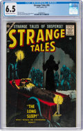 Silver Age (1956-1969):Horror, Strange Tales #54 (Atlas, 1957) CGC FN+ 6.5 Off-white to white pages....