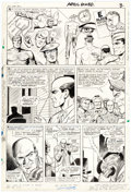 Original Comic Art:Panel Pages, Dick Ayers and John Tartaglione Sgt. Fury and His Howling Commandos #32 Story Page 3 Original Art (Marvel, 1966)....