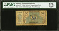Military Payment Certificates:Series 472, Series 472 50¢ First Printing Replacement PMG Fine 12.. ...