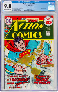 Action Comics #435 (DC, 1974) CGC NM/MT 9.8 Off-white to white pages