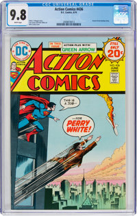 Action Comics #436 (DC, 1974) CGC NM/MT 9.8 White pages