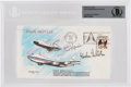 Explorers:Space Exploration, Space Shuttle Enterprise (ALT-12): Rare First Free Flight Cover Signed by Fred Haise and Gor...