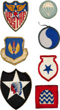 Explorers:Space Exploration, Buzz Aldrin: Collection of Thirteen Mostly-Vintage Military Patches, Originally from His Personal Collection. ...