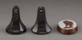 Three Wedgwood Stoneware Wax Seals, England, late 18th century and later Marks to Jasperware seal: Wedgwood & Bentle...