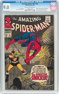 The Amazing Spider-Man #46 (Marvel, 1967) CGC VF/NM 9.0 Off-white to white pages