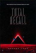 """Movie Posters:Science Fiction, Total Recall (Tri-Star, 1990). Rolled, Very Fine. One Sheet (26.75"""" X 39.75"""") SS Advance. Science Fiction.. ..."""