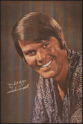 """Movie Posters:Musical, Glen Campbell Lot (1970). Folded, Very Fine. Personality Poster (24"""" X 36"""") & Souvenir Picture Book (8.5"""" X 11""""). Musical.. ... (Total: 2 Items)"""