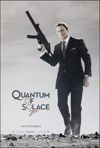 """Quantum of Solace (MGM, 2008). Rolled, Very Fine/Near Mint. One Sheet (26.75"""" X 39.75"""") DS Advance. James Bond..."""